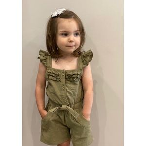 Other - NWT Youth Olive Green Romper